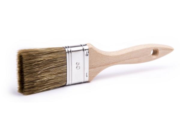 BOWI Flad pensel til lak og imprægnering